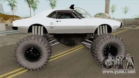 Pontiac Firebird Monster Truck 1968 for GTA San Andreas