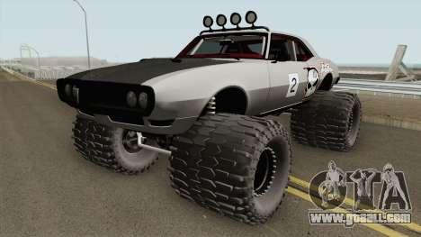 Pontiac Firebird Off Road No Fear 1968 for GTA San Andreas