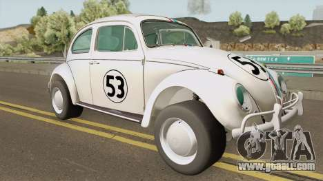 Volkswagen Herbie 1963 for GTA San Andreas