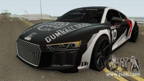 Jon 0lsson Audi R8 V10 Plus 2018 for GTA San Andreas