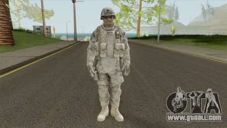 Marine Skin V1 From Spec Ops: The Line for GTA San Andreas