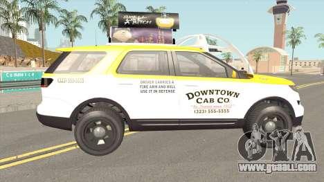 Vapid Scout Taxi GTA V for GTA San Andreas