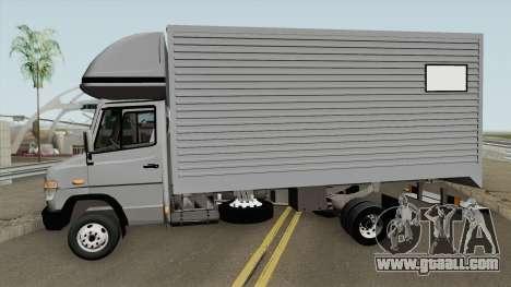 Mercedes-Benz Vario Flatbed for GTA San Andreas