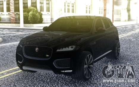 2017 Jaguar F-Pace for GTA San Andreas