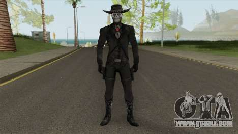 Erron Black (With Hat) From Mortal Kombat X for GTA San Andreas