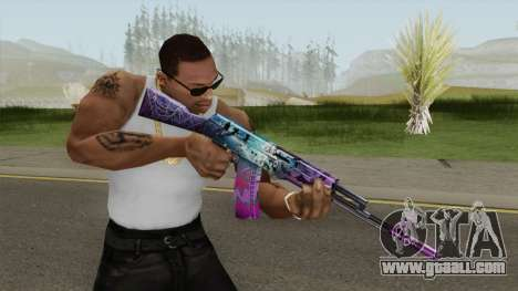 SFPH Playpark (Ghost AK47) for GTA San Andreas