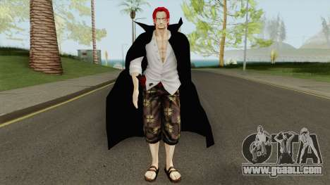 Akagami Shanks (One Piece Pirate Warrior 3) for GTA San Andreas