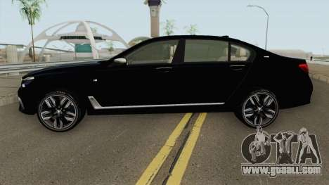 BMW M760LI G12 2018 German V1 for GTA San Andreas