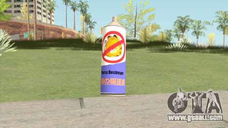 Pussy Destroyer Spray for GTA San Andreas