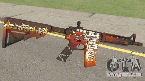 CS-GO M4A4 Hellfire for GTA San Andreas