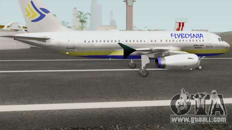 FLYBOSNIA Airbus A319 V1 for GTA San Andreas