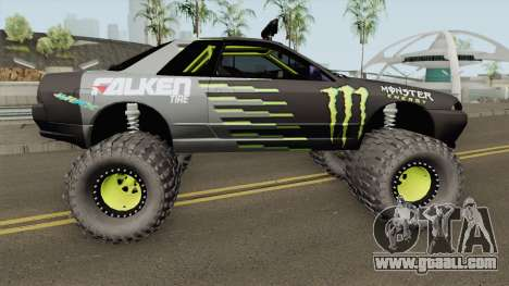 Nissan Skyline R32 Off Road Monster Energy for GTA San Andreas