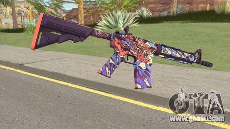 CS-GO M4A4 Dragon King for GTA San Andreas