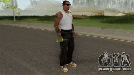 Knife V2 (Apocalypse) for GTA San Andreas