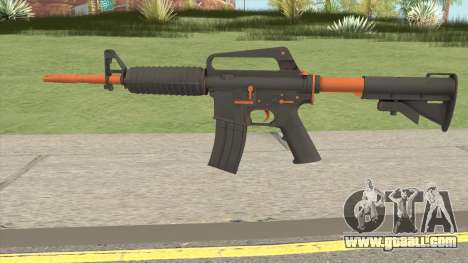 CS:GO M4A1 (Orange Accents Skin) for GTA San Andreas