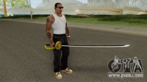 Shanks Akagami Weapon for GTA San Andreas