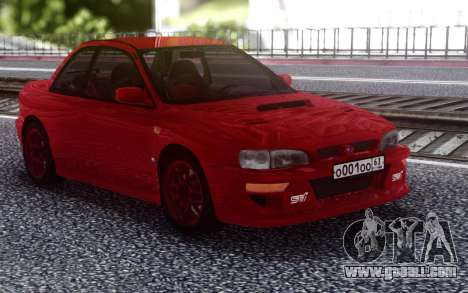 Subaru Impreza 22B GC8 for GTA San Andreas