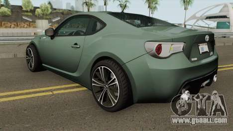 Toyota GT86 2013 for GTA San Andreas