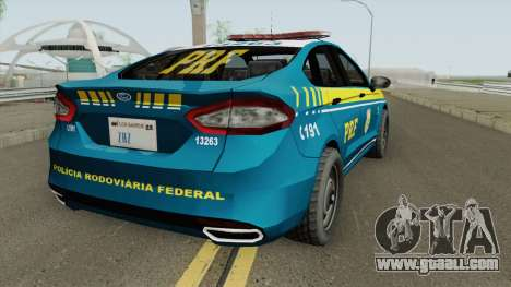 Ford Fusion Policia Rodoviaria Federal for GTA San Andreas