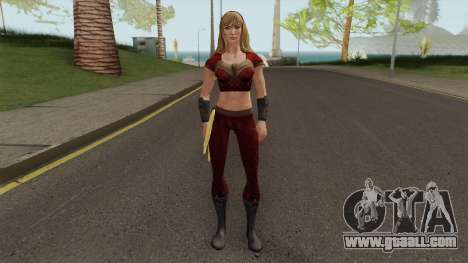 Wondergirl Heroic From DC Legends for GTA San Andreas