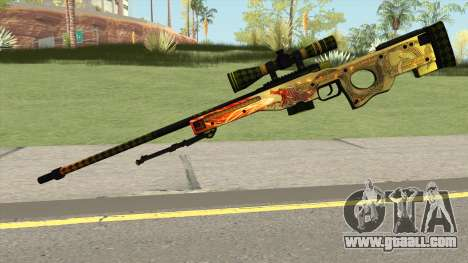 CSGO AWP Dragon Lore for GTA San Andreas