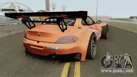 BMW Z4 GT3 2010 Jagermeister for GTA San Andreas