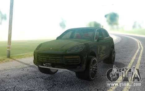 Porsche Cayenne 2019 for GTA San Andreas