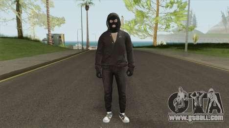 Criminal Skin 4 for GTA San Andreas