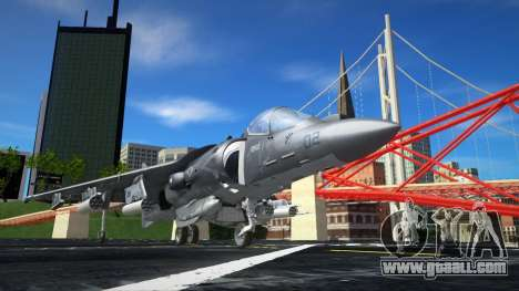 Boeing AV-8B Harrier II Plus for GTA San Andreas