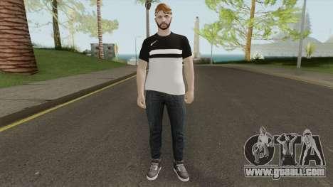 Random Skin 8 for GTA San Andreas
