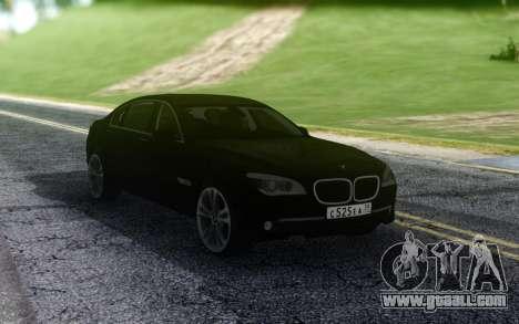 BMW 740LI Pasha Pala for GTA San Andreas