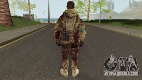 Rick Gould From Spec Ops: The Line for GTA San Andreas