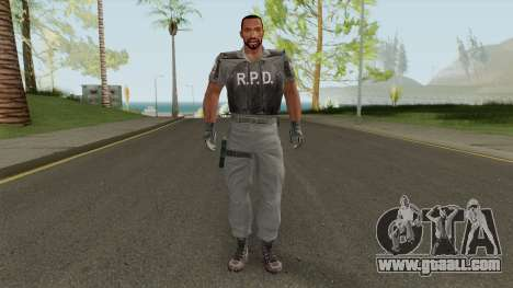 Carl Johnson HD (RPD) for GTA San Andreas