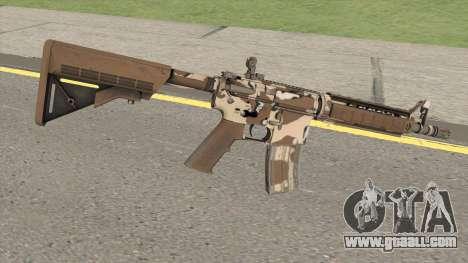 CS-GO M4A4 Desert Storm for GTA San Andreas