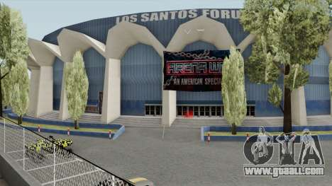 Los Santos Forum With Arena Wars Banners (Beta) for GTA San Andreas