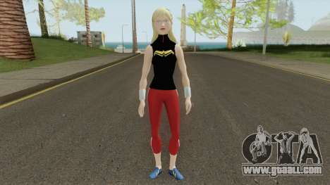 Wonder Girl Skin V1 for GTA San Andreas