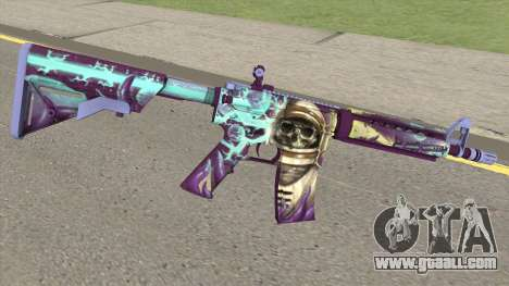 CS-GO M4A4 Desolate Space for GTA San Andreas
