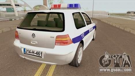 Volkswagen Golf IV Policija Republike Srpske for GTA San Andreas