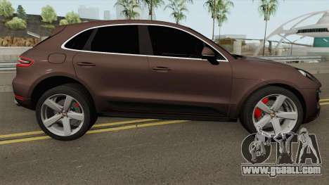 Porsche Macan Turbo 2016 for GTA San Andreas