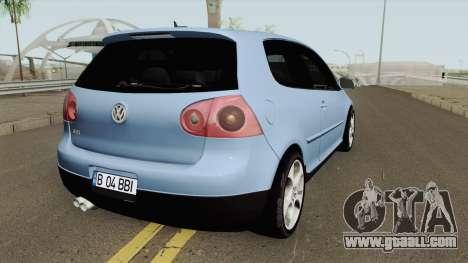 Volkswagen Golf 5 Baieti Buni for GTA San Andreas