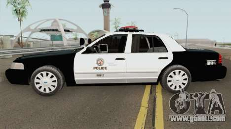 Ford Crown Victoria Police Interceptor LAPD 2011 for GTA San Andreas