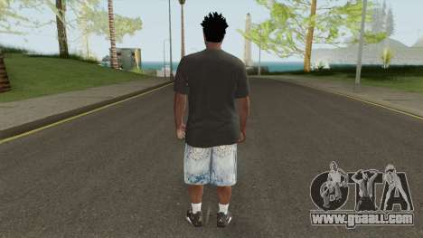 Skin Random 145 With Black Shirt for GTA San Andreas