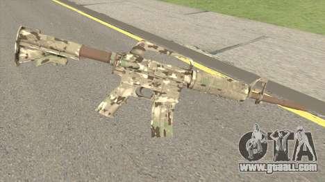 CS:GO M4A1 (Varicamo Skin) for GTA San Andreas
