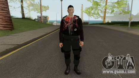 The Punisher V2 (Blood Retextured) for GTA San Andreas
