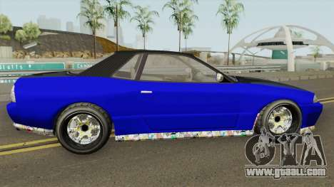 Annis Elegy Custom GTA V for GTA San Andreas