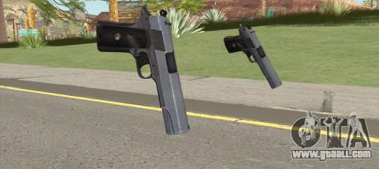 Tactical Paintball Vice City Ep 1: Battlefield 3 M1911 For GTA San Andreas