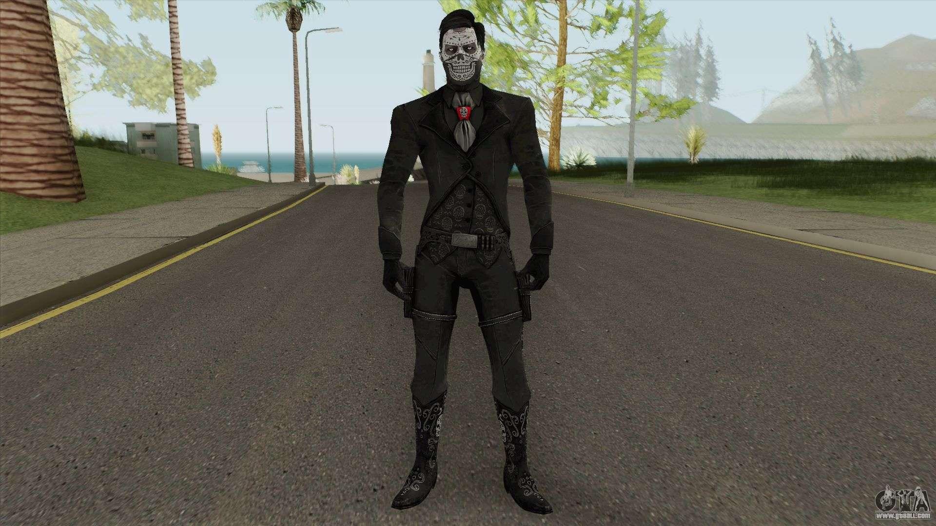 Erron Black (Without Hat) From Mortal Kombat X for GTA San