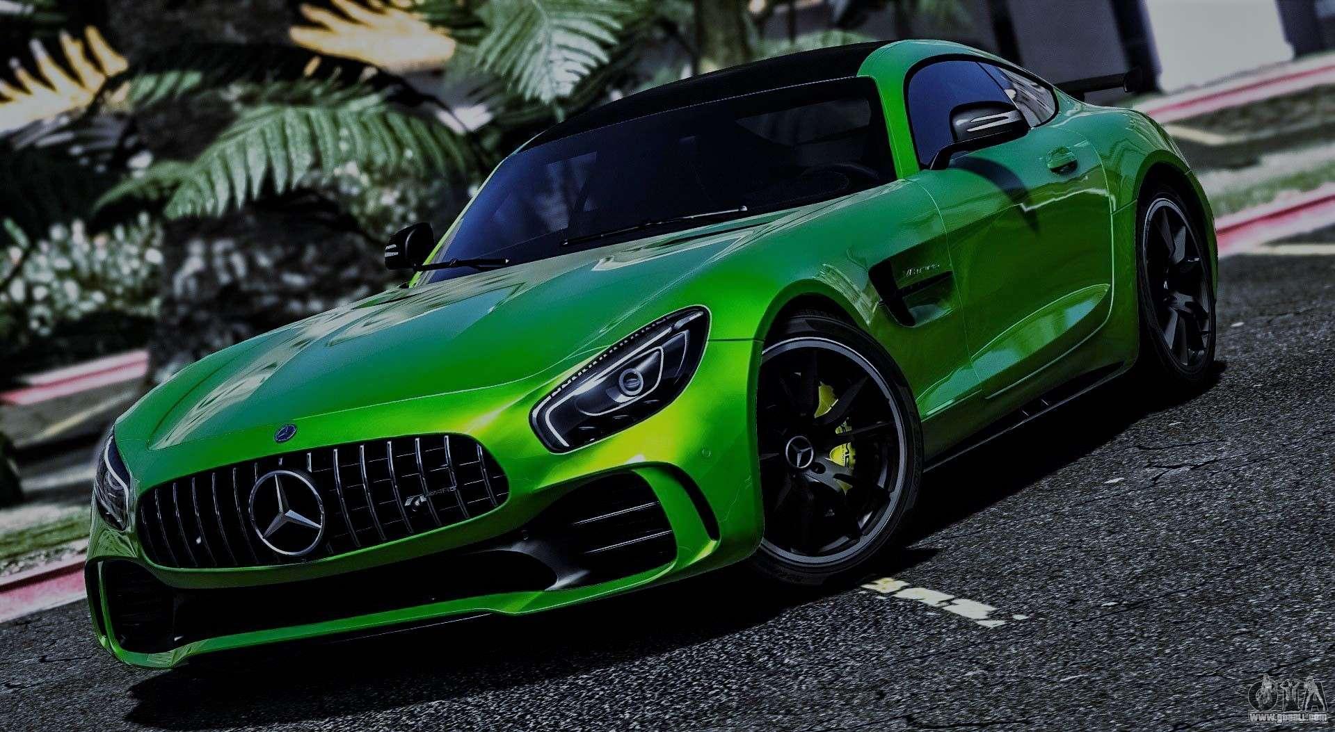 Mercedes Benz Amg Gt R 2017 For Gta 5