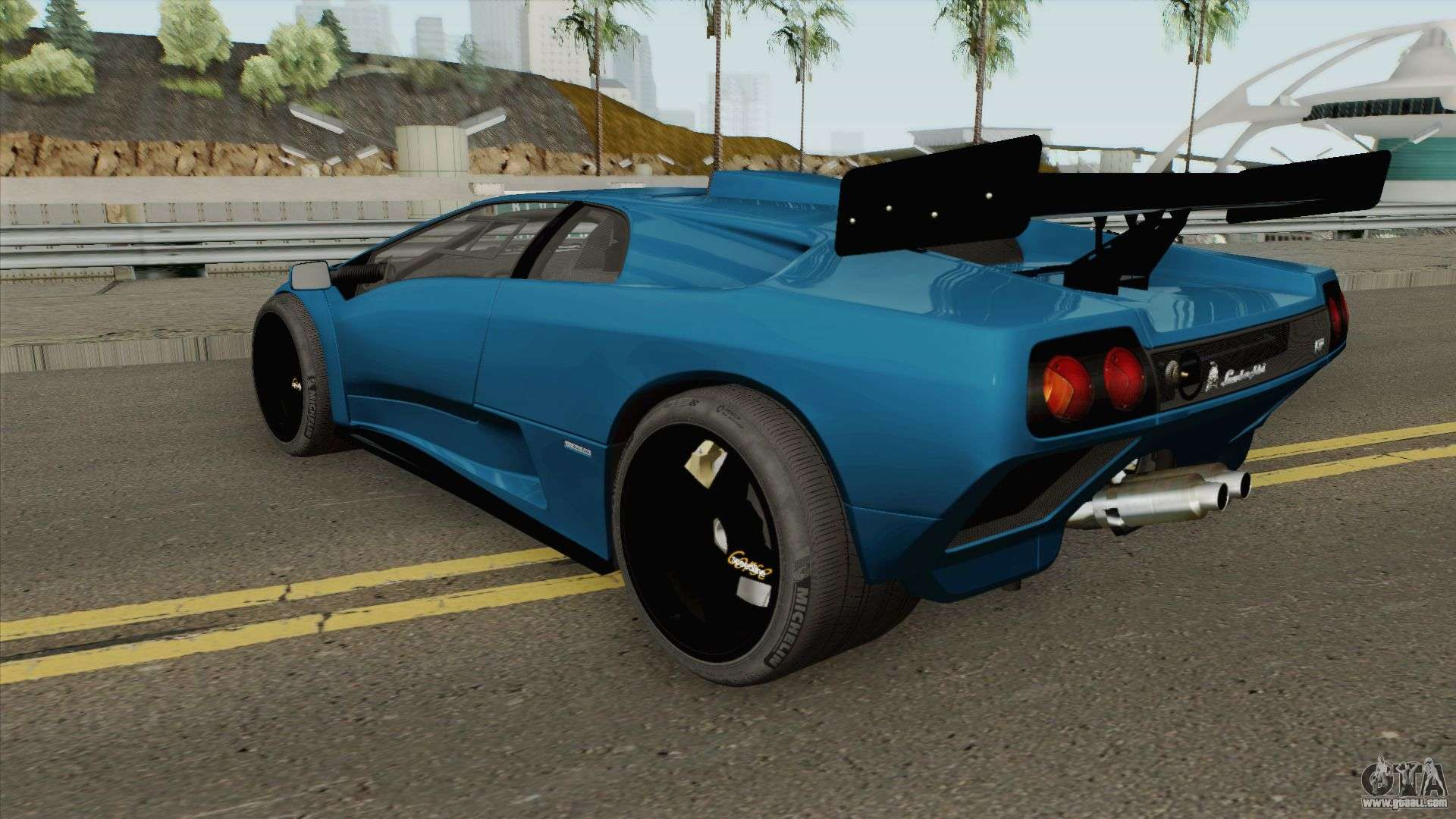 Lamborghini Diablo Gt R Hq 1999 For Gta San Andreas