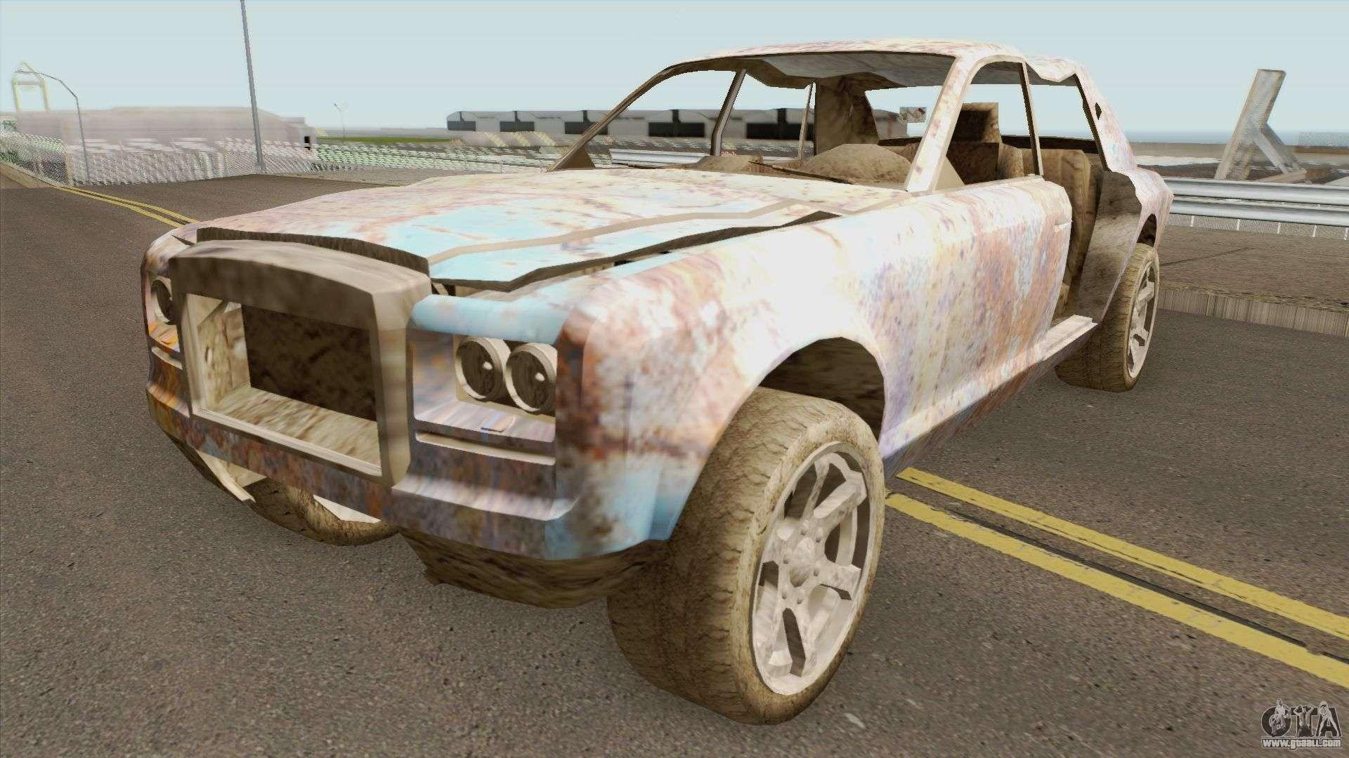 Rusty Enus Super Diamond GTA V For GTA San Andreas